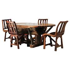 100 log dining room tables cedar lake log dining tables and