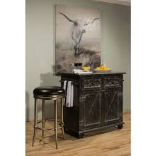 black kitchen islands hillsdale furniture bellefonte black kitchen island with marble