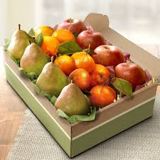 fruit gift boxes california christmas fruit trio gift box gift baskets