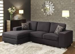Black Fabric Sectional Sofas Sofa Beds Design Fascinating Traditional Black Fabric Sectional