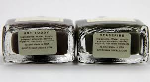 scotch naturals water based nail polish swatches u0026 review vampy