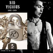 lock necklace punk images Punk sex pistols sid vicious r lock padlock necklace chain silver jpg