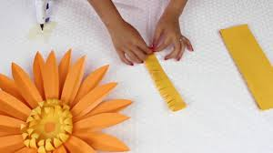 diy paper flowers daisy template 7 youtube