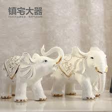 online get cheap white ceramic elephant figurine aliexpress com