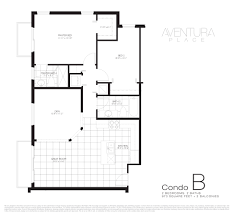Townhome Floor Plan by Floor Plans Aventura Place