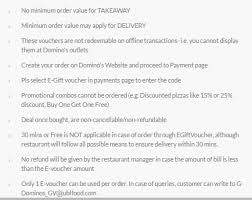 dominos black friday deals how to use domino u0027s voucher from littleapp quora