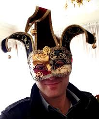 joker mask with bells from venice masquerade masks online