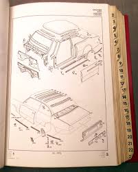 sold opel rekord d and commodore b factory parts book classic