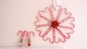 diy candy cane christmas decorations youtube loversiq