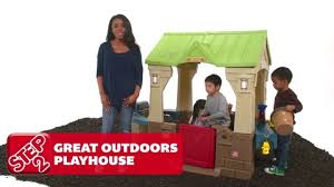 Step 2 Storybook Cottage Used by Step2 Great Outdoors Playhouse Target