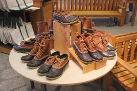 Duck Boots Mens Fashion Salt Water New England The L L Bean Boot