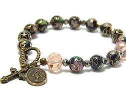 rosary bracelets rosary bracelet etsy