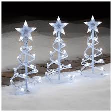 Led Snowflake Lights Outdoor by Christmas Christmas Pathway Lights Stakeschristmas Outdoor At