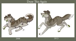 Draw This Again Meme Template - draw this again chicken smoothie dog by noxxplush on deviantart