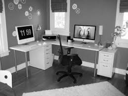 Computer Desk Setup Ideas Astounding Home Office Setup Ideas Images Design Workspace