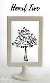 easy diy glass paint heart tree rhythms of play