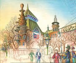 one artist u0027s lifelong quest to create a hidden kingdom called