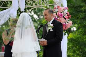 how to officiate a wedding asking a friend or family member to officiate your wedding