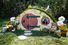 how to diy hobbit hole playhouse home u0026 family hallmark