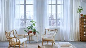 Yellow Curtains Ikea Window Dressing Window Treatment Ideas Ikea