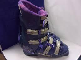 used s ski boots size 9 used s salomon evolution 9 1 ski boots size 14 15 c s