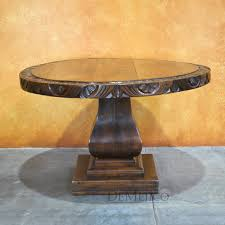 Rustic Round End Table Rustic Dining Table Catalog Mesquite Tables Rustic Round Table