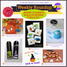 weekly roundup 12 non candy kiddie halloween treats