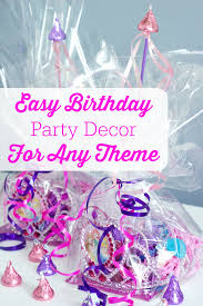 party decor easy birthday party decor for any theme png