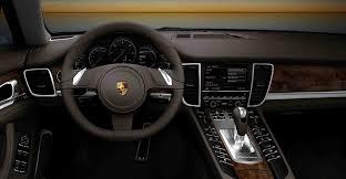 Porsche Panamera Platinum Edition - black porsche panamera interior saidcars info