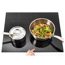 induction cuisine trevlig induction hob black 58 cm ikea