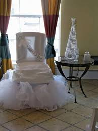 bridal shower chair bridal shower chair decorations 99 wedding ideas