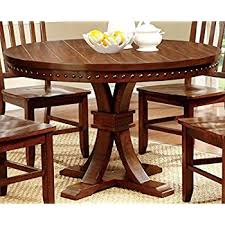 Round Dinette Table Amazon Com Coaster Home Furnishings Nelms Classic Modern