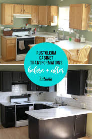 painting kitchen cabinets with rustoleum spray paint rustoleum cabinet transformations review before after