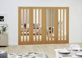 Folding Room Divider Doors Aston Oak French Folding Room Divider Express Doors Direct