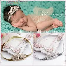 hair bands for baby girl two colors baby crown with glitter hairbands fashion kids