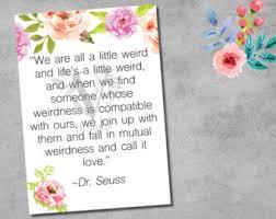 wedding quotes dr seuss dr seuss quotes etsy