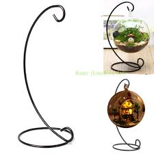 13 inch plant stand hanging vase hydroponic wedding decor metal