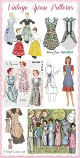 Pink Retro Kitchen Collection Cute Vintage Retro Aprons And Patterns