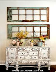 fanciful room buffet table ideas antique painted buffet antique