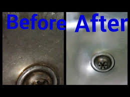 how to keep stainless steel sink shiny remove blockage in steel sink steel sink cleaning tip make