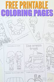 diy travel coloring kit kids free printable coloring sheets