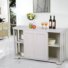 Kitchen Storage Cabinet Buffet Cabinet Ebay