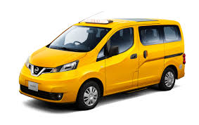 nissan nv200 nissan introduces its new generation nv200 taxi in japan