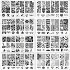 aliexpress com buy seal nail stamping plates plaque nail art