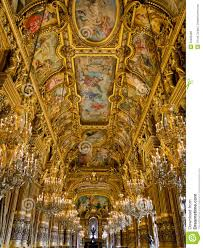 Grand Foyer Palais Garnier Ceiling Royalty Free Stock Images Image 30285009