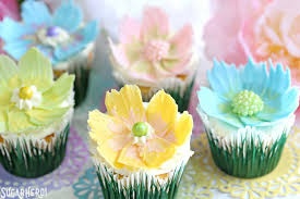 chocolate flowers easy chocolate flower cupcakes sugarhero
