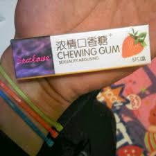 sex love chewing gum obat perangsang wanita permen karet asli