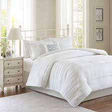 madison park isabella 2 in 1 white duvet cover coverlet set free today com 18525101