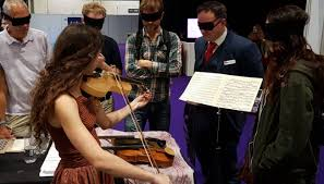 Blind Violinist Famous The Sound Of This Spider Silk Violin Surprises Expert Musicians