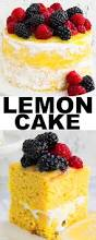 this moist lemon cake recipe from scratch with seven minute